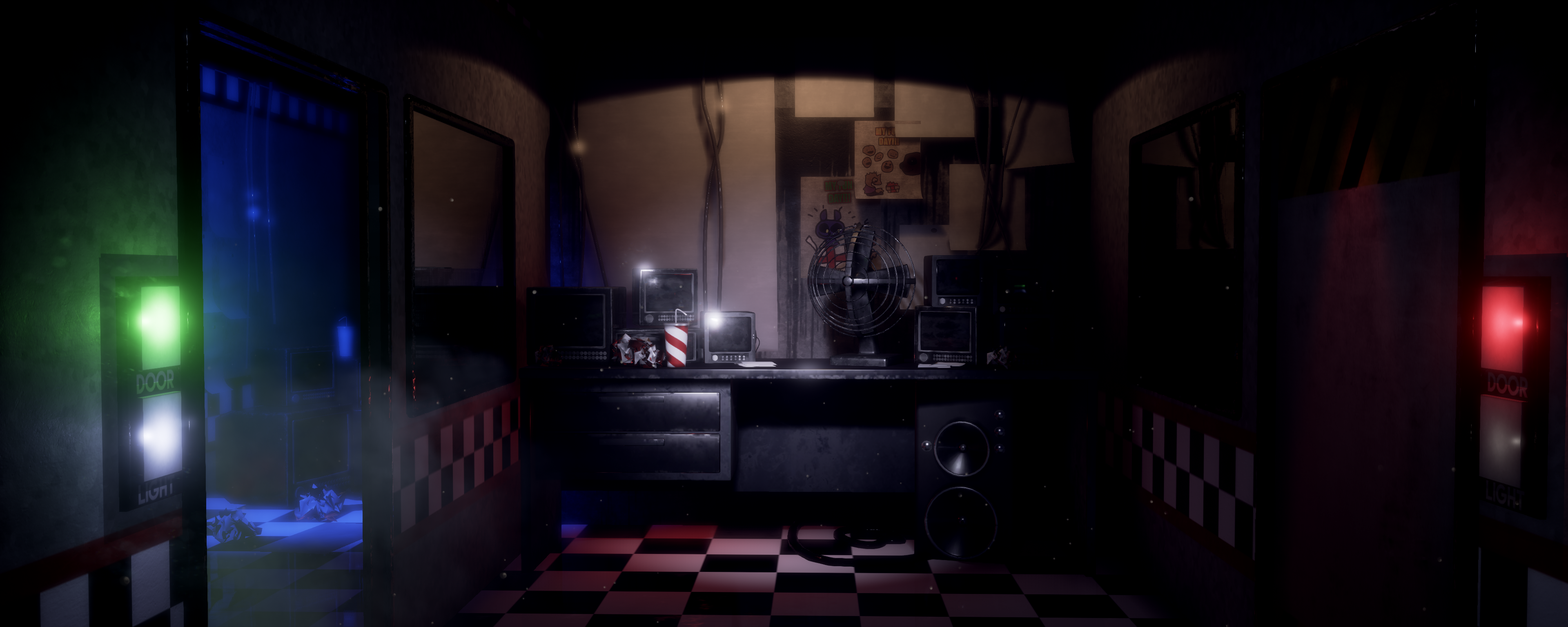 Found this FNaF 1 Office I modeled a couple of months ago
