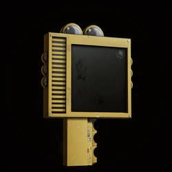FNAF SL | Semi-Realistic HandUnit Model.