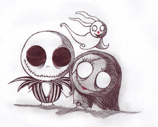 Jack and Sally by Jeatles