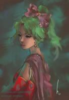 Terra - Final Fantasy VI by castcuraga