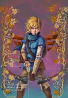 Link - The Legend of Zelda : Breath of the Wild by castcuraga