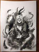 Yiga Assassin - Zelda Breath of the Wild (Ink)  by castcuraga