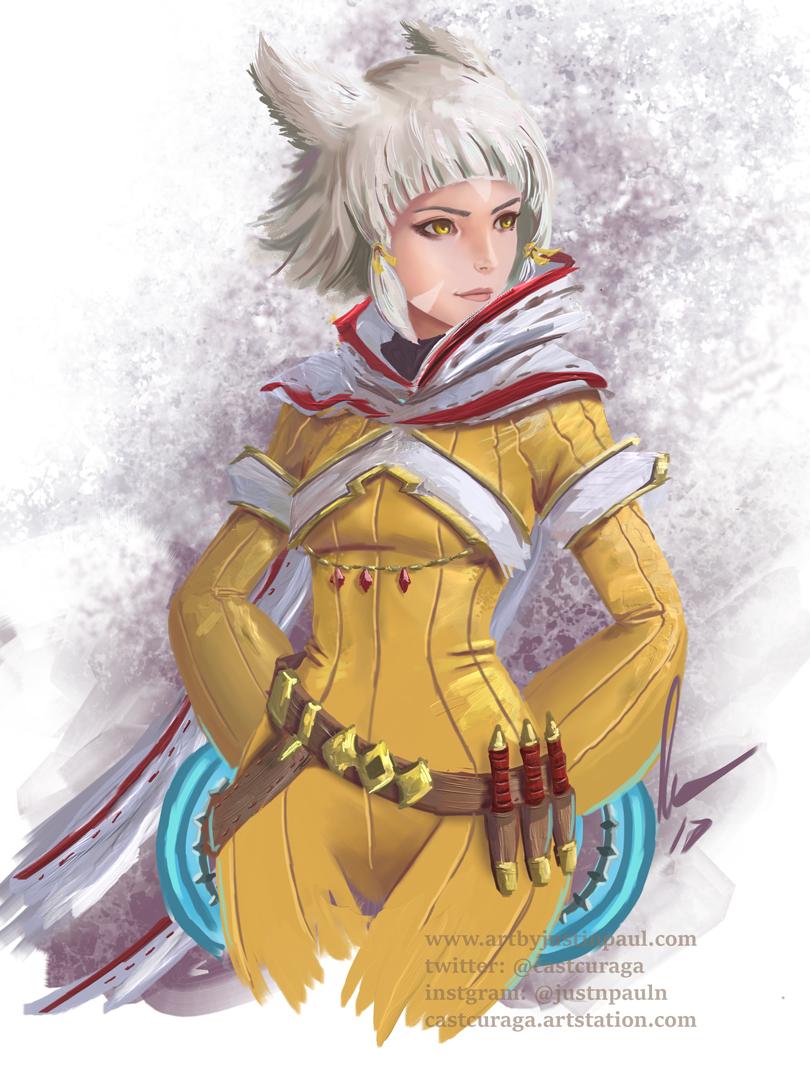 Nia - Xenoblade Chronicles 2 by castcuraga