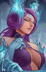 Brighid - Xenoblade Chronicles 2  by castcuraga