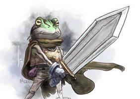 Day 3 - Frog - Chrono Trigger