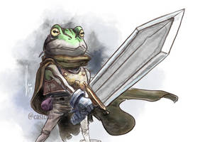 Day 3 - Frog - Chrono Trigger