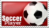 Stamp: Soccer Player by RojoRamos