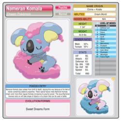 Nameran Komala (Sweet Dreams Form)