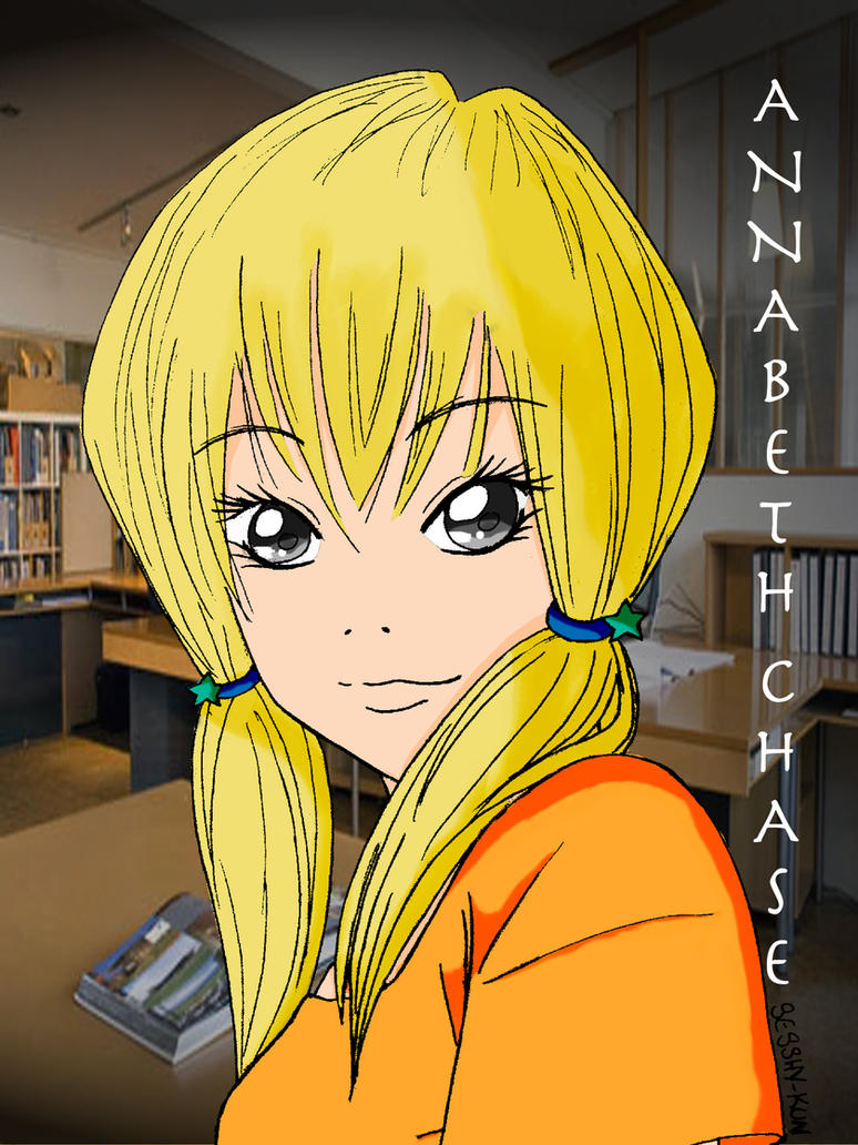 how to draw annabeth chase