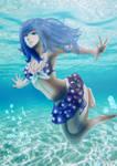 Juvia - Fairy Tail by Wulfwu
