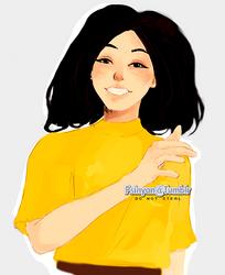 Yellow Babe by Psinan