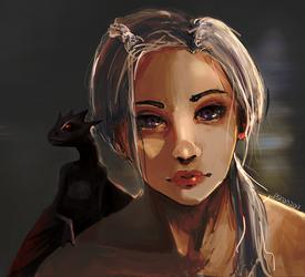 Daenerys by Psinan