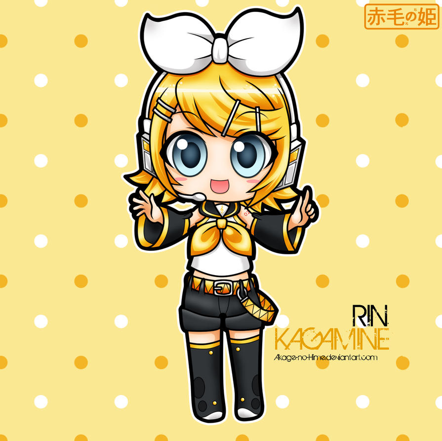 Vocaloid - Rin Kagamine by Akage-no-Hime on DeviantArt