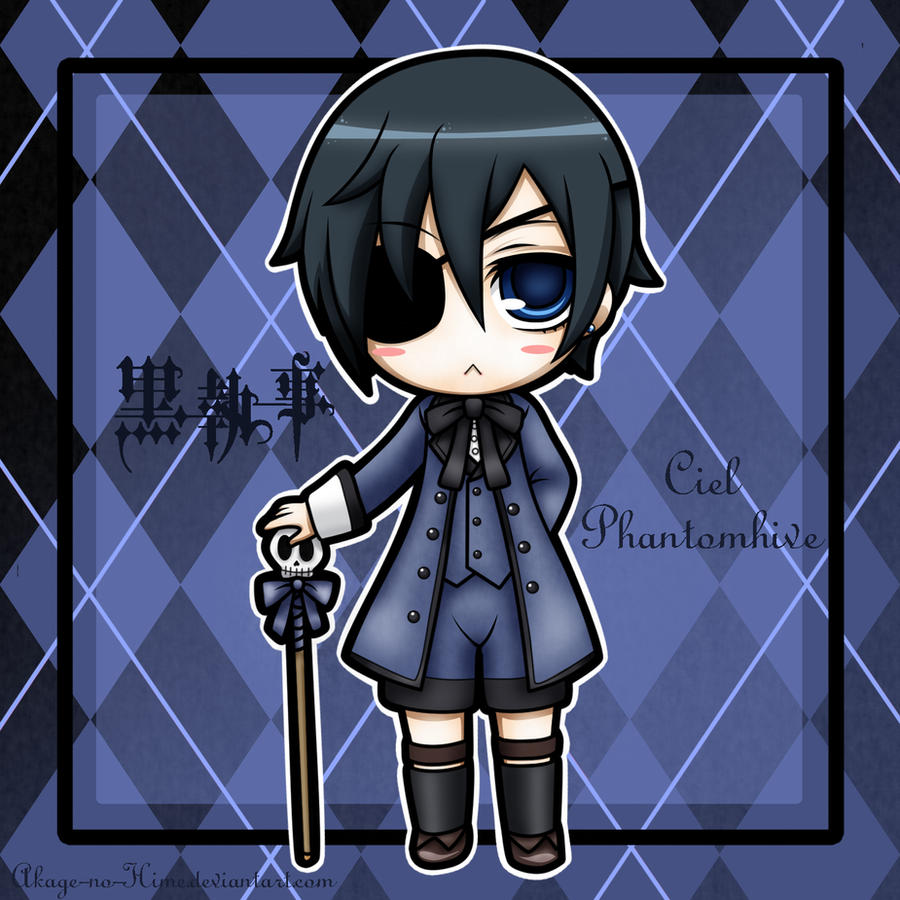 Ciel Phantomhive Wallpaper: Ciel Phantomhive By Akage-no-Hime On DeviantArt