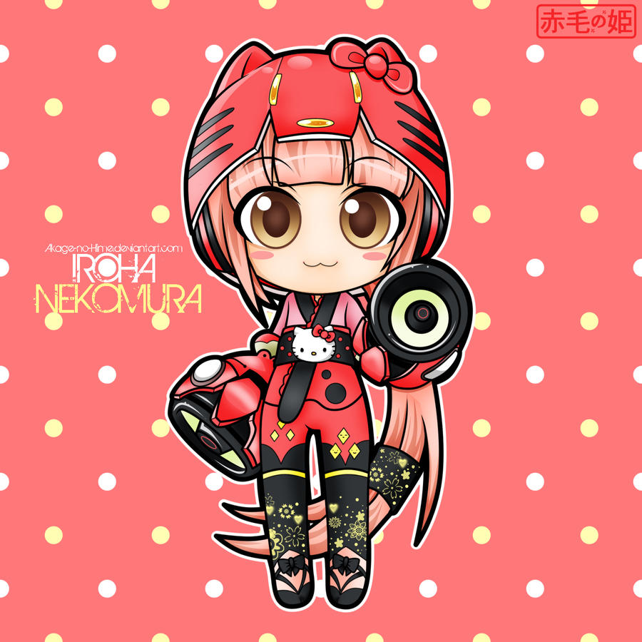 Vocaloid - Iroha Nekomura by Akage-no-Hime