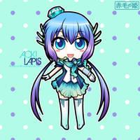 Vocaloid - Aoki Lapis