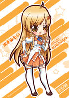 Culture Japan - Mirai Suenaga winter uniform by Akage-no-Hime
