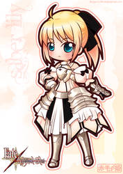 Fate/Unlimited Codes - Saber Lily by Akage-no-Hime
