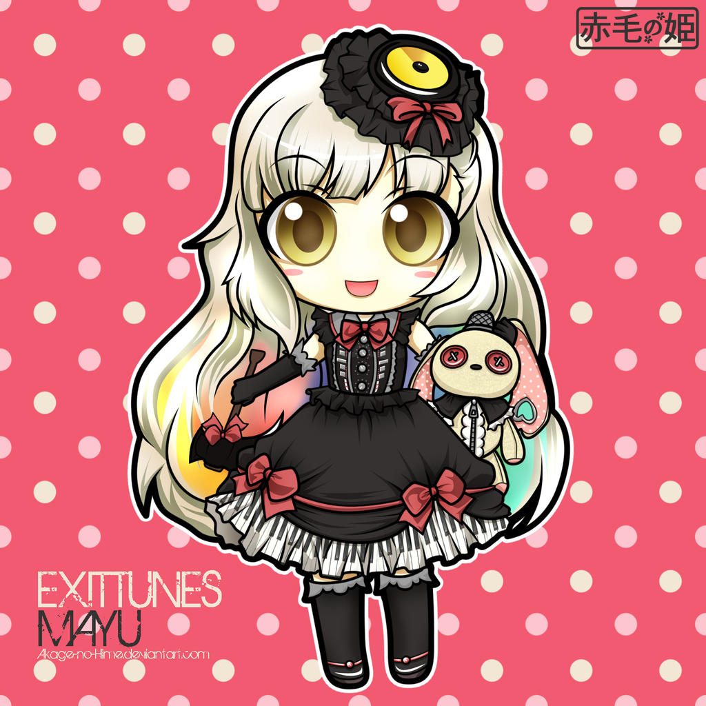 Vocaloid - MAYU by Akage-no-HimeMayu Vocaloid Chibi