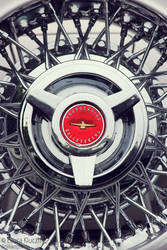 Oldtimer Muscle Car Wheel Vintage by Kluschi