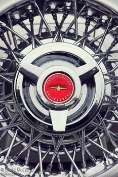 Oldtimer Muscle Car Wheel Vintage
