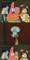 Patrick Mayonnaise Meme Blank