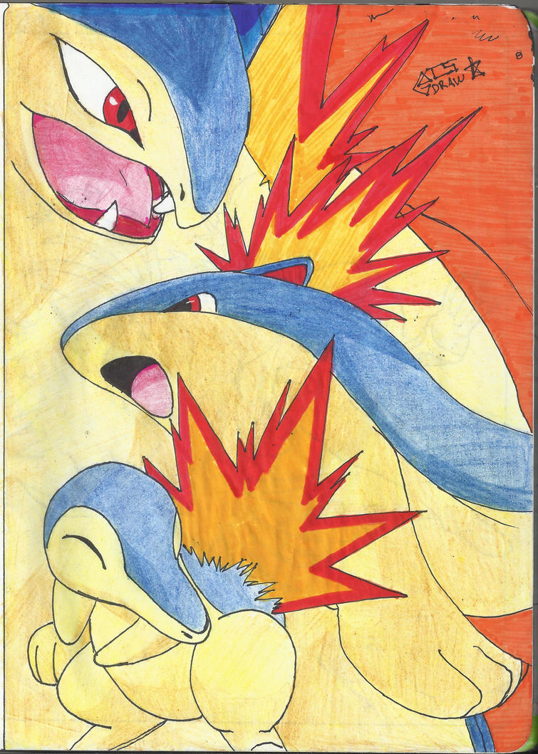 cyndaquil typhlosion quilava - photo #15