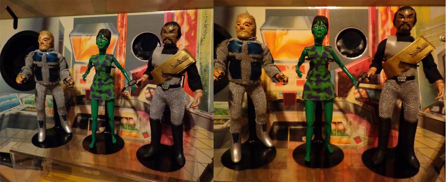 Star Trek Custom Mego Action Figures By Riseleycomics On