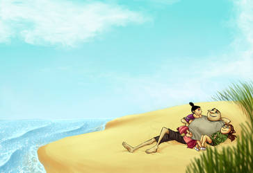 Lazy Summer Afternoon by Skellagirl