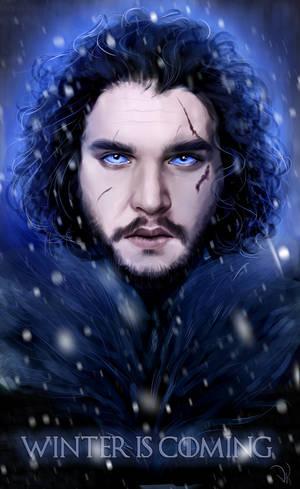 Jon Snow by ValentiArt