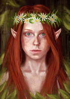 Elf by ValentiArt