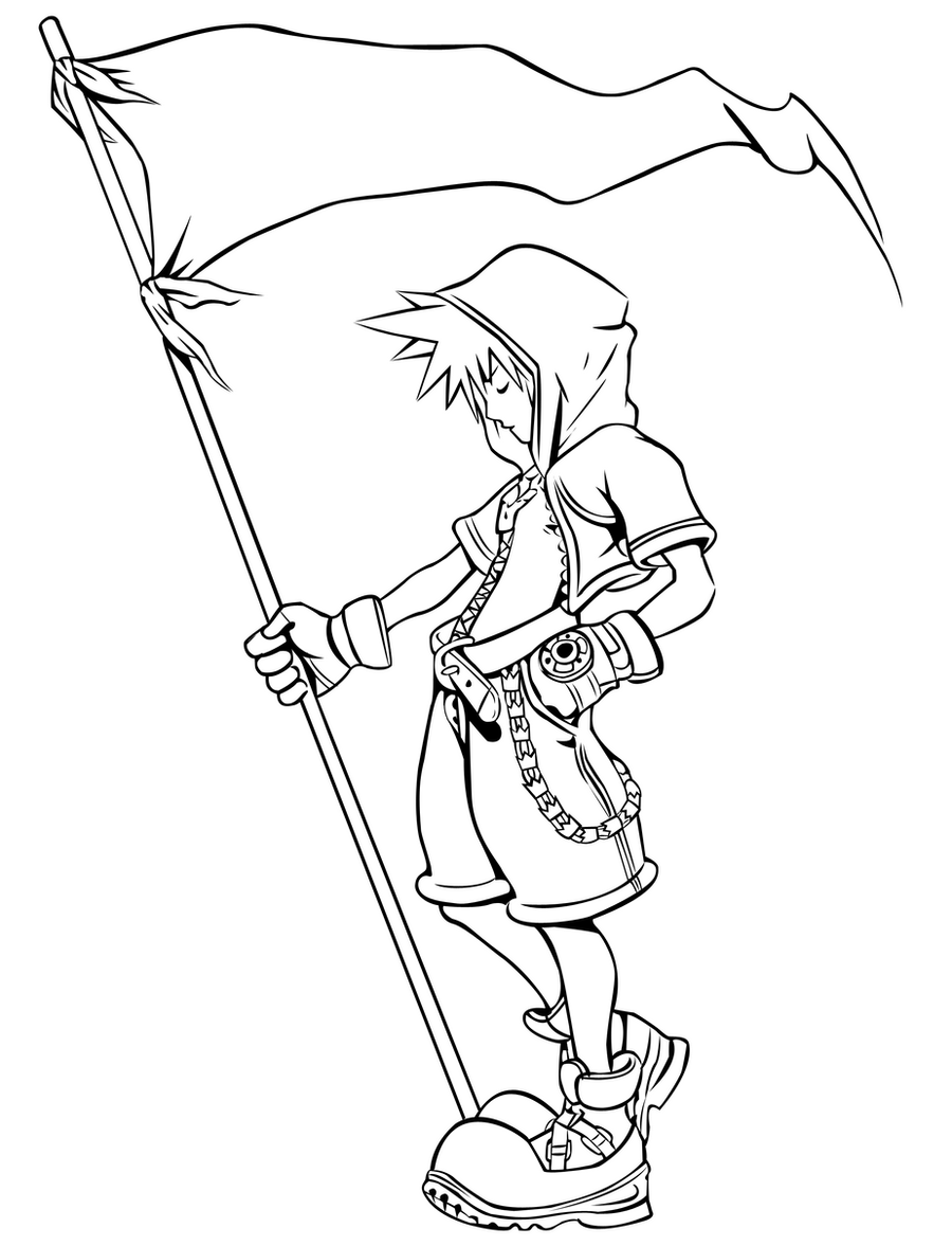 sora coloring pages - photo#11
