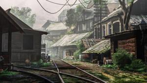Gmod   Rail Slums