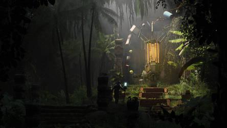 Gmod   Shrine of the Physgod by OlmateUbafest