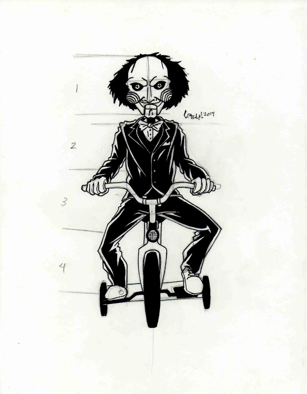 Jigsaw Saw Puppet Drawing | www.pixshark.com - Images ...