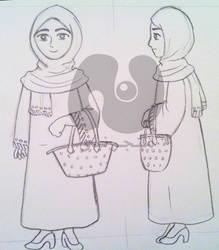 skitch-lady by Nada-Muhammad