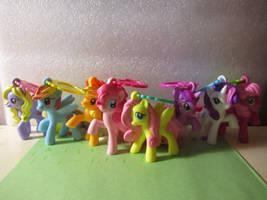 My Little Pony McDonalds Toys 2012