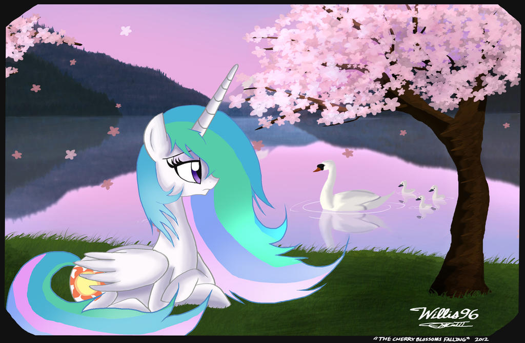 The Cherry Blossoms Falling by WillisNinety-Six