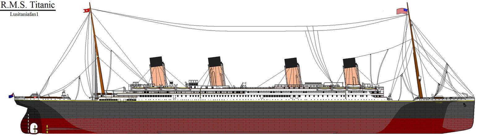 RMS Titanic By Lusitaniafan1 On DeviantArt