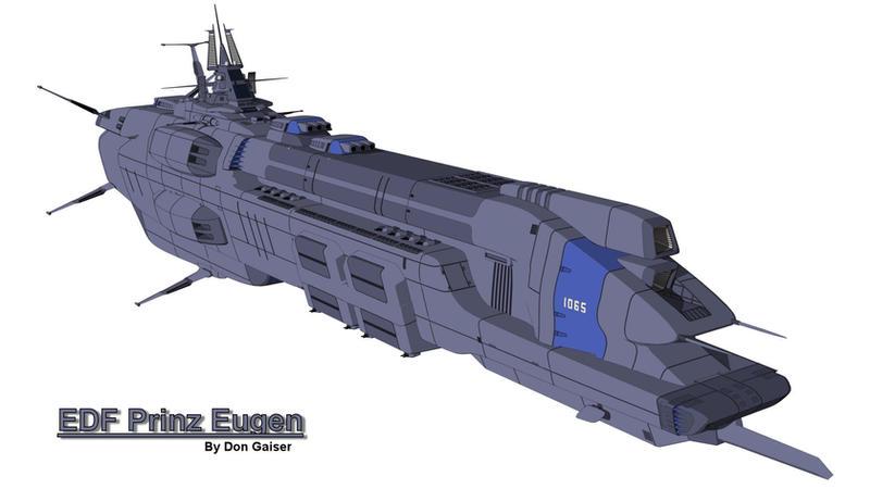 EDF Prinz Eugen by xzarno
