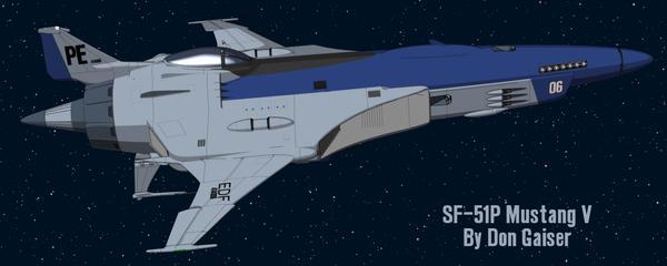 SF-51P Mustang V 2 by xzarno