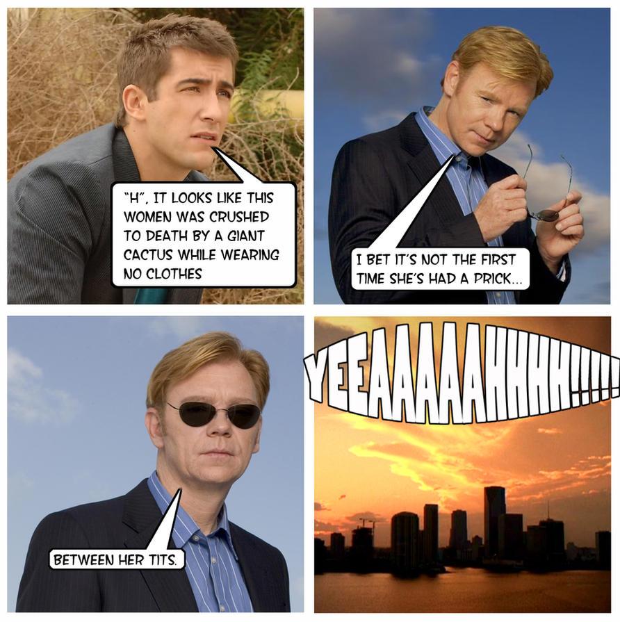 CSI Miami Joke by mattbond273 on DeviantArt