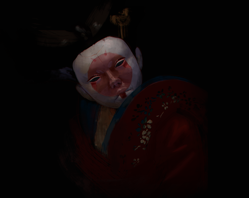 geisha by Alis-Ayrton-Fox