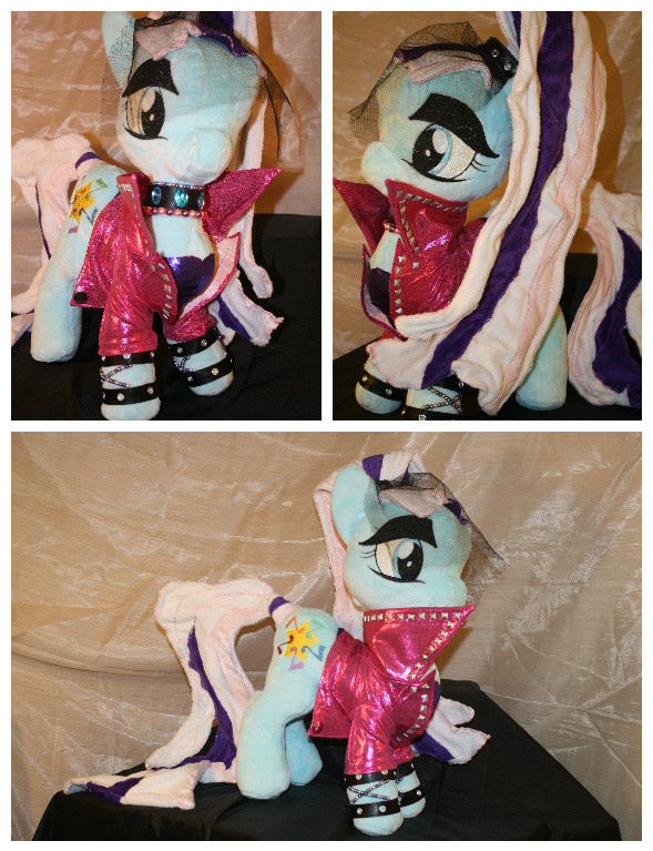 My Little Pony Countess Coloratura Plush by LillyBrushCustoms