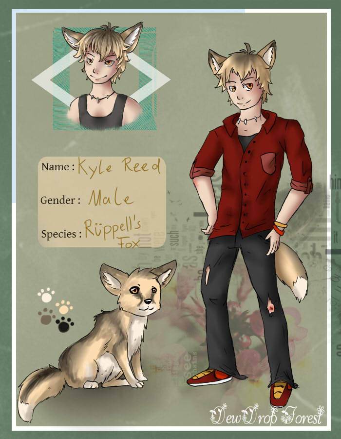 Dewdrop Forest Application: Kyle by KriemiX