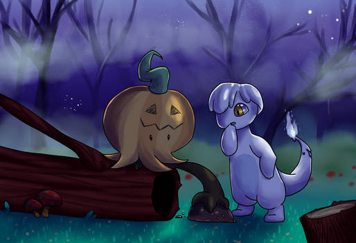 Spooky forest adventures