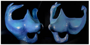 Blue for You Mask