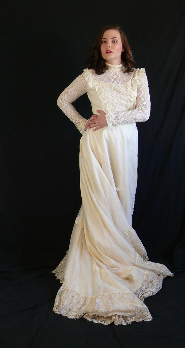 victorian dress by magikstock