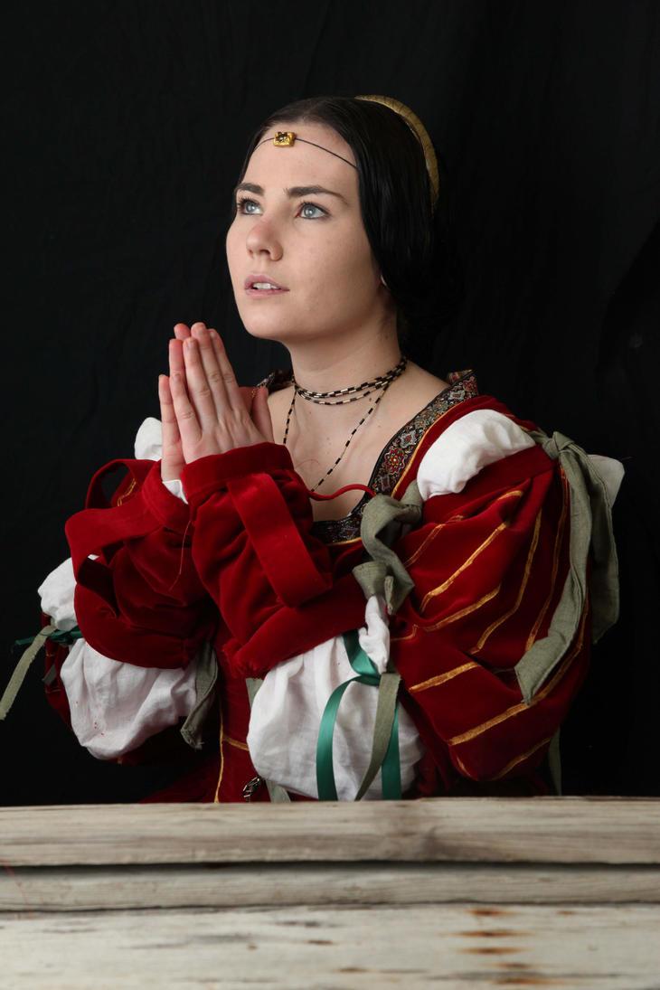 Renaissance portrait 3 by magikstock