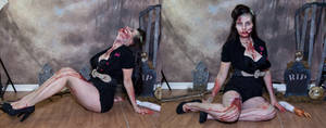 Zombie pinup 2